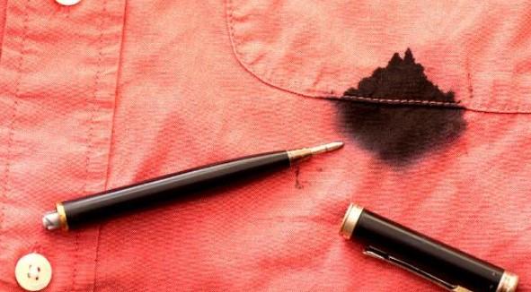 cara hilangkan noda tinta